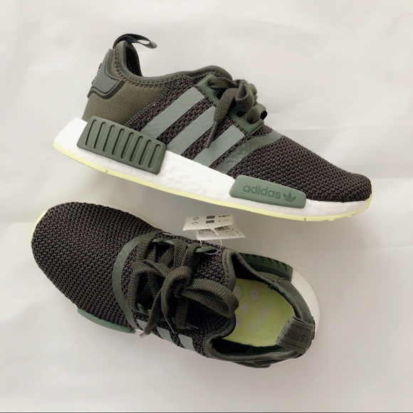 crazy price classic best sneakers ADIDAS NMD R1 NIGHT CARGO / BASE GREEN / SE SIZE 5 NWT